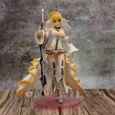 Anime Fate/Grand Order Saber/Nero Claudius Bride Complete PVC Figure No Box 24cm