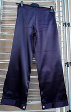 Pantalon satin prune SEPIA 38