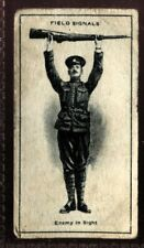 Tobacco Card, Imperial Canada, INFANTRY TRAINING, 1915, Field Signals, #49