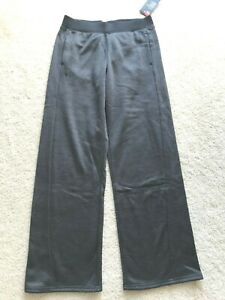 NWT NEW Under Armour COLDGEAR sweat pants S SML charcoal gray pockets LOOSE FIT