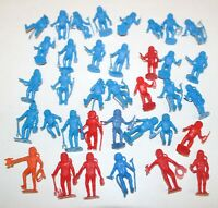 Lot of 30+ MPC Astronaut Figurines Toy Soldiers Vintage Space Man NASA Plastic
