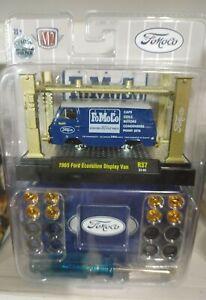 M2 FoMoCo Blue 1965 Ford Van CHASE Model Kit M2 Machines 1:64 Die-cast 1/750!!
