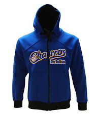 Charros de Jalisco Full Zipper Warm Sweater Blue With Black