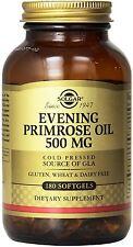Evening Primrose Oil, Solgar, 180 gelcap 500 mg