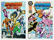 The Doom Patrol DC Comic Book Lot 8 & 9