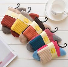 5 Pairs Womens Wool Angola Warm Soft Thick Casual Sports Winter Boot Socks Lot