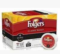 2 PACK Folgers Classic Roast K-Cups K Cup Keurig