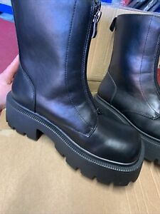 Truffle Uk 4 Ladies Platform Boots