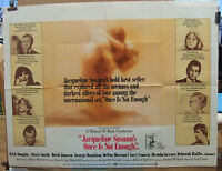 Kirk Douglas ONCE IS NOT ENOUGH(1975) Original UK quad cinema poster