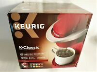 KEURIG K-CLASSIC K50 SINGLE SERVE K-CUP POD COFFEE MAKER RHUBARB RED BEST PRICE