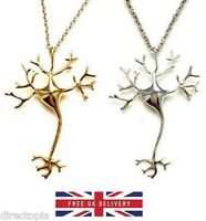 Neuron Necklace Statement Jewellery Science Pendant Necklace & Gift Bag