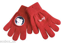 Childrens Kids Disney George Spiderman Knitted Winter Gloves One Size 4-8 Years