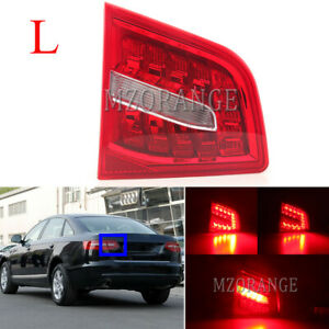 Left Side LED Rear Inner Tail Light Brake Lamp For Audi A6 C6 2009-2012 UK LHS