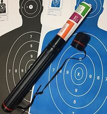 Paper Shooting Target Adjustable Carry Tube