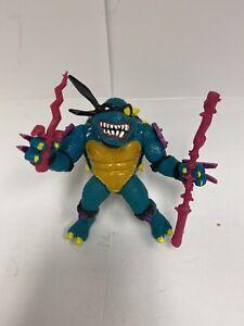 TMNT Teenage Mutant Ninja Turtles Slash Action Figure 1990 Mirage Studios- RARE