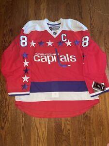 Washington Capitals Reebok Edge 2.0 alternate jersey size 54