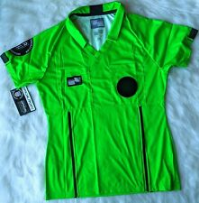 OFFICIAL SPORTS Brand Size Small USSF GREEN Soccer Referee Jersey New with Tags
