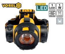 Kopflampe LED 1W Stirnlampe Headlamp 3 Lichtmodi wasserdicht Arbeitslampe