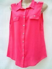 George Chiffon Collared Tops & Shirts for Women