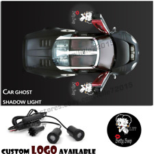 Car Door Projector BETTY BOOP Logo Ghost Shadow Courtesy Welcome Laser LED Light