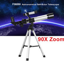90X Astronomical Telescope Monocular Space Optical Glass Aluminum + Tripod CY