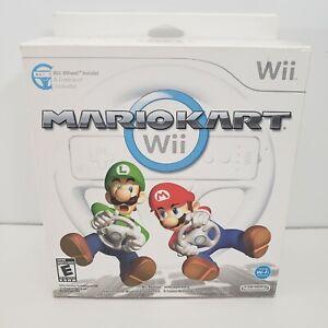 Mario Kart Wii with Wii Wheel - Nintendo Wii - New Open Box