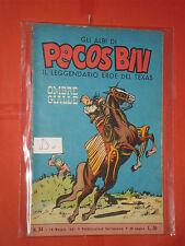 PECOS BILL-GLI ALBI-LIBRETTO MONDADORI-FASANI-N° 34-D-1961 +DISPONIBILI ALTRI N