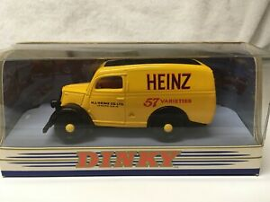 """Dinky DY-4 1950 Ford E83W 10 CWT Van """"Heinz 57 Varieties"""" Yellow Made China 1994"""