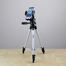 "50"" tripod w/Cell Phone Holder fo Samsung Galaxy S3 S4 S5 iPhone 6 Plus smartpho"