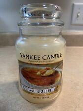 Yankee Candle Creme Brulee