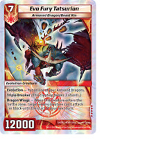 Kaijudo X1 EVO FURY TATSURION Super Rare S4/S5 4EVO Foil EVO FURY Duel Masters