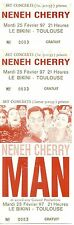 RARE / TICKET BILLET DE CONCERT - NENEH CHERRY A TOULOUSE ( FRANCE ) 1997 UNUSED