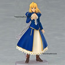 FATE/STAY NIGHT Unlimited Blade Works Saber Dress Figma Action Figure Exclusive