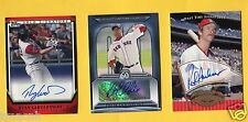 2011 TOPPS DEBUT RYAN LAVARNWAY RED SOX AUTO AUTOGRAPH 2013 WORLD SERIES YALE