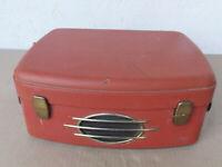 Altes UHER Tonbandgerät im roten Koffer - Model Typ 495  Bastler/Sammlergerät