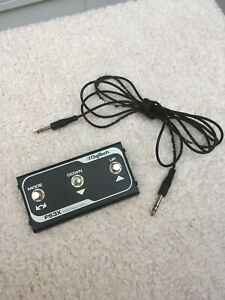 Digitech FS3X 3-button foot switch in excellent condition - model FS3XV