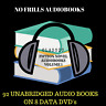 CLASSIC NOVELS Audiobook Collection Volume 1 - 92 MP3 Audiobooks on 8 Data DVD's