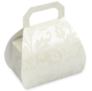 HANDBAG FAVOUR GIFT BOXES CANDY BOXES 10 PER PACK BABY SHOWER WEDDING DECOR