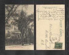 1909 GRACE CHURCH NEW BEDFORD MASS UDB UNDIVIDED BACK POSTCARD