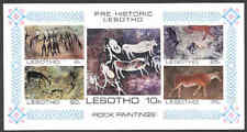 Lesotho 1983 Rock Paintings SS imperf