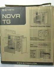 BitFenix Nova TG White ATX/mATX/Mini ITX Midi Tower Case Tempered Glass  [LST]