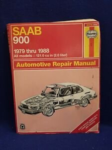 Service Repair Manuals For Saab 900 For Sale Ebay