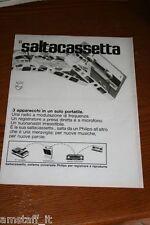 BM15=1972=PHILIPS SALTA CASSETTA=PUBBLICITA'=ADVERTISING=WERBUNG=