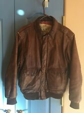 Vintage Banana Republic A2 Bomber Leather Jacket. Size 40