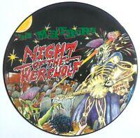 EX/EX The Meteors Night of Werewolf Vinyl LP Picture Disc Stray Cats Rockabilly