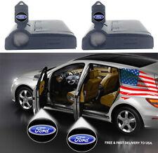 2Pcs Ford Car Door LED Logo Light Projector