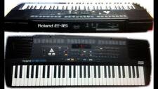 Roland E-16 Synthesizer in perfektem Zustand! Original-Netzteil