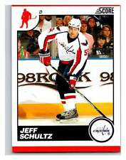 (HCW) 2010-11 Score Glossy #481 Jeff Schultz Capitals Mint