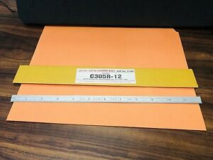 "STARRETT No. C305R-12 Full Flexible Steel Rule with Inch Graduations. ""USA Made"""