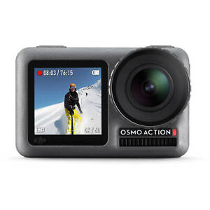 DJI OSMO ACTION CAMERA 4K. BRAND NEW AND SEALED. DUAL SCREEN. WATER RESISTANT.